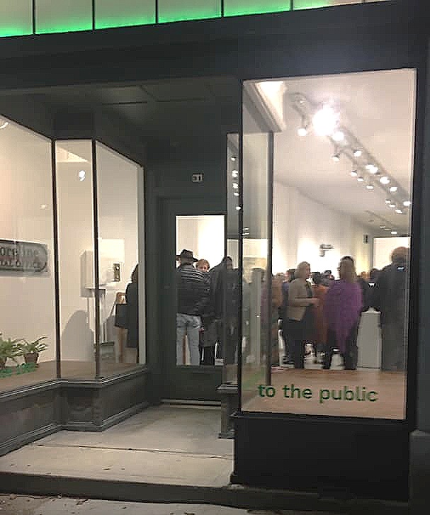 The venue for the exhibit: El Museo in Buffalo—and the public is welcome! [Photo by Barbara Campagna]