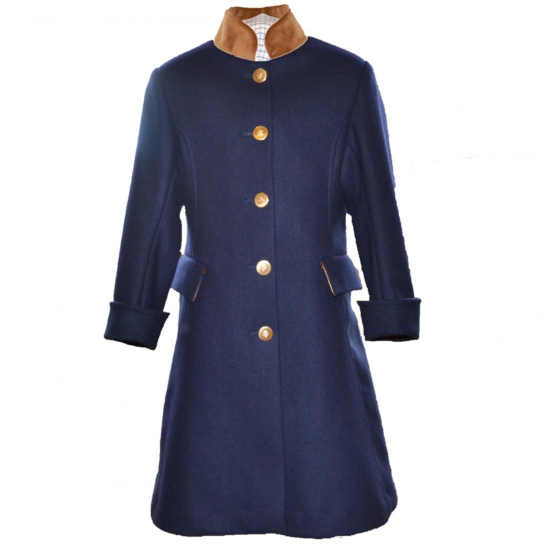 Startsmart Liberty Long Navy Coat