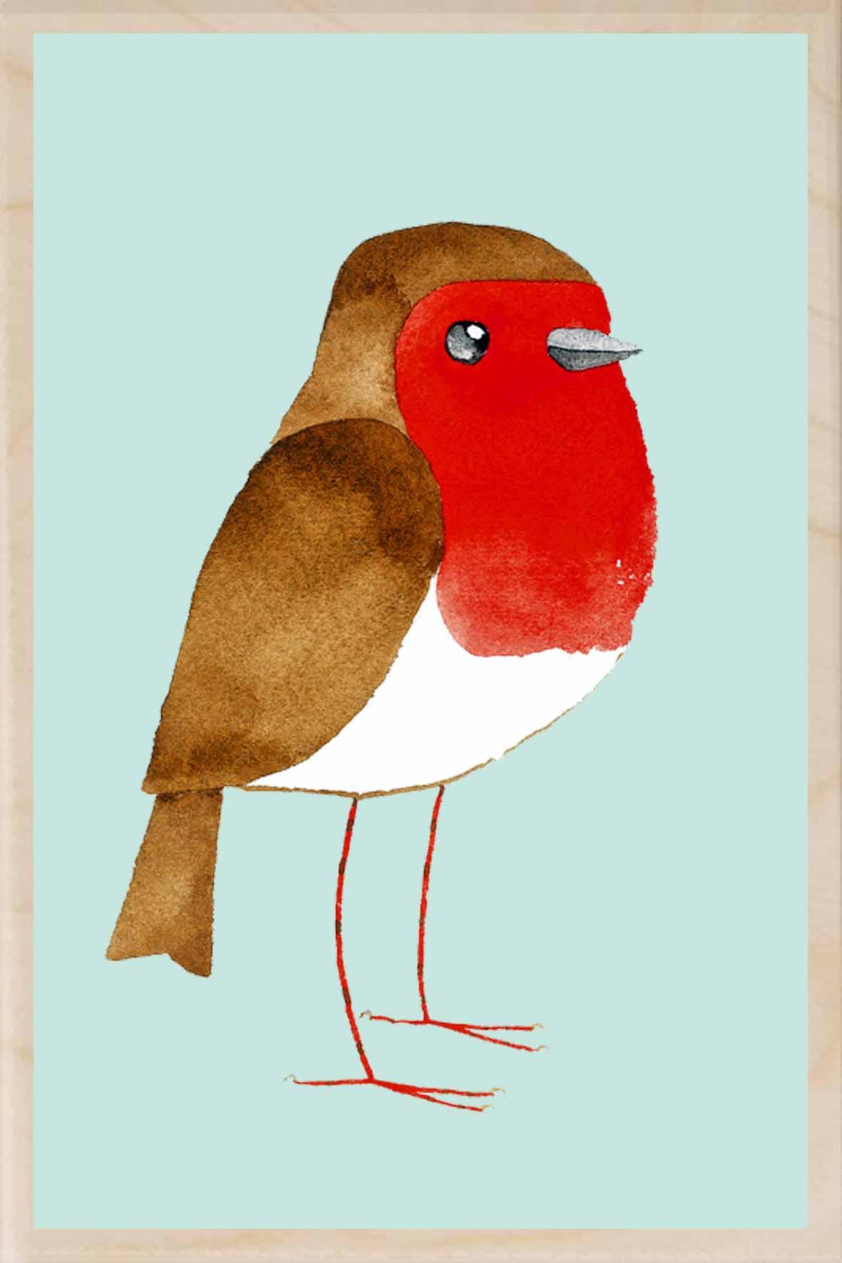 matt sewell robin the wooden postcard company houten postcard MS 14.jpg