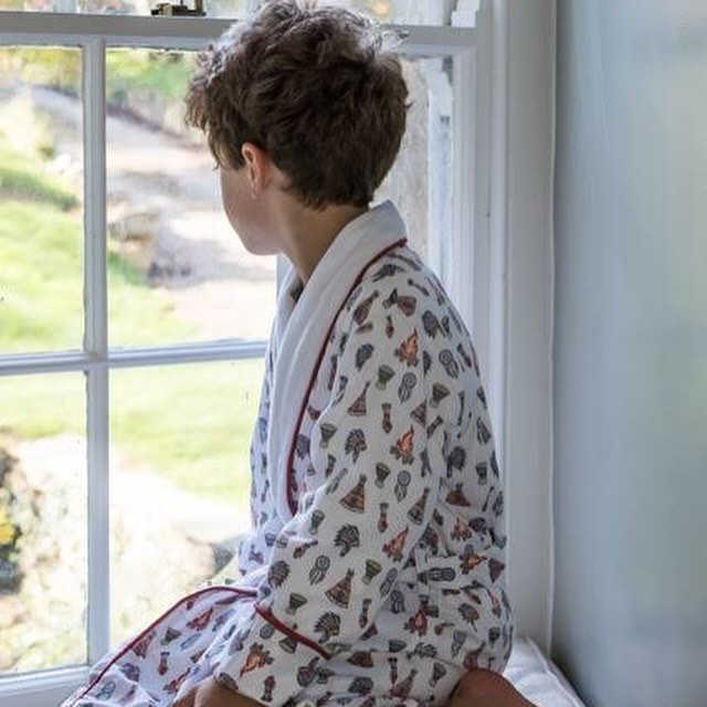 Great nightwear by @emandlulondon. For the full article, link in bio. #kidspyjamas #kidsclothes #nightwear #kidsdressinggown