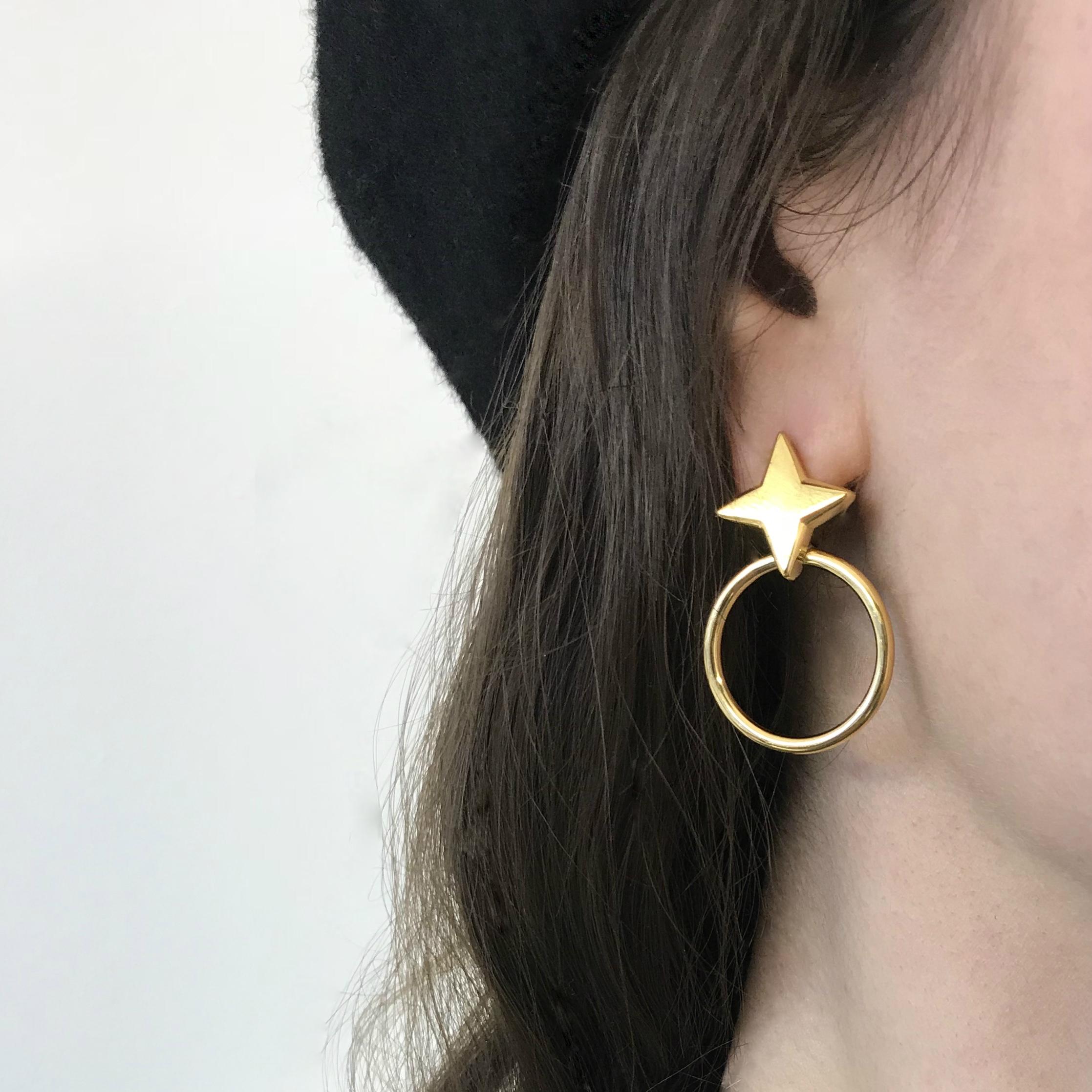 Nova Earrings on Model Gold.jpg