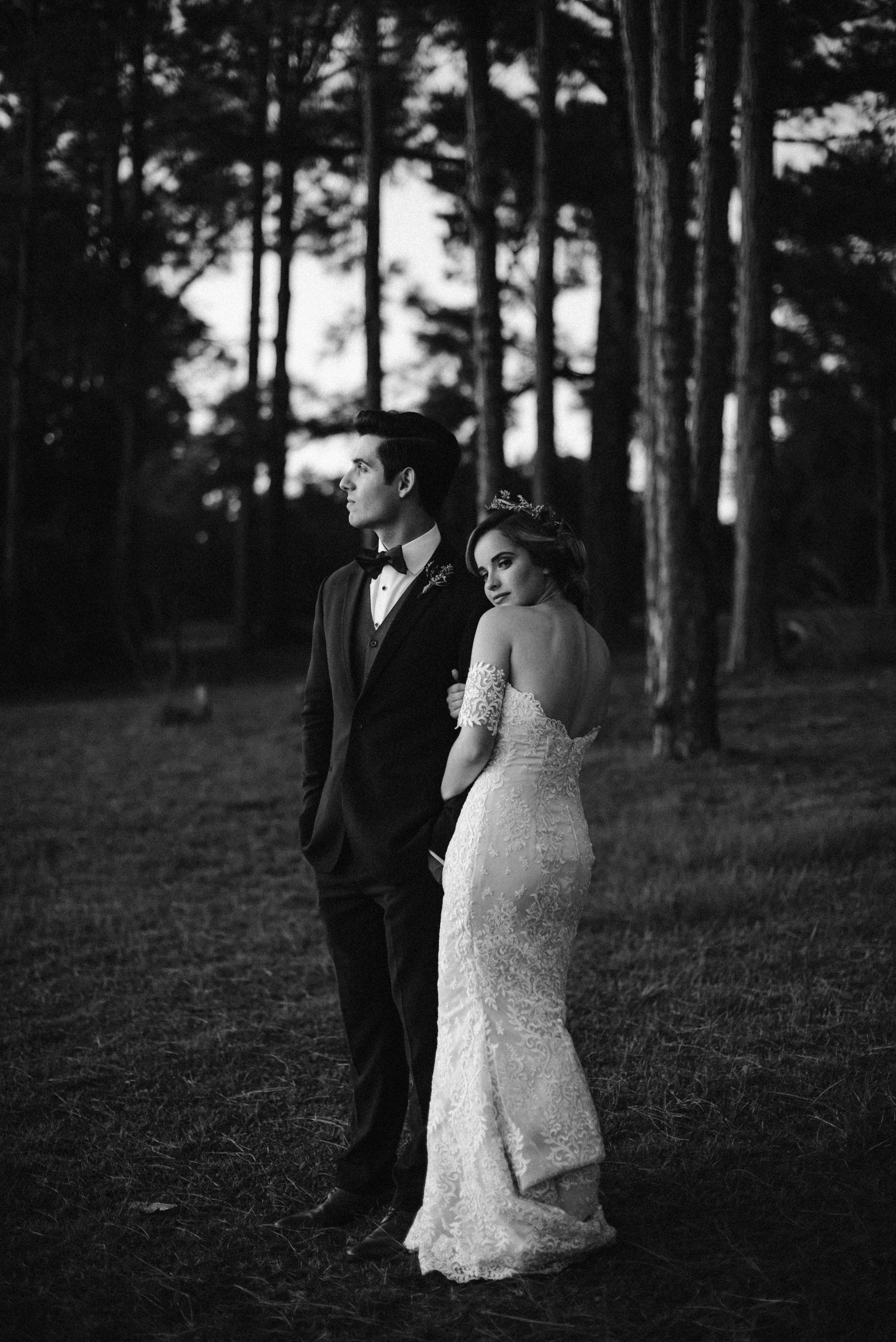 """""""They made us laugh the entire night as they met our every need and request. We love how beautifully our wedding day was captured to the last detail. They also delivered super fast! I was in shock! I will most definitely and always recommend Fox and Film to friends and family."""" - - Shellby R."""