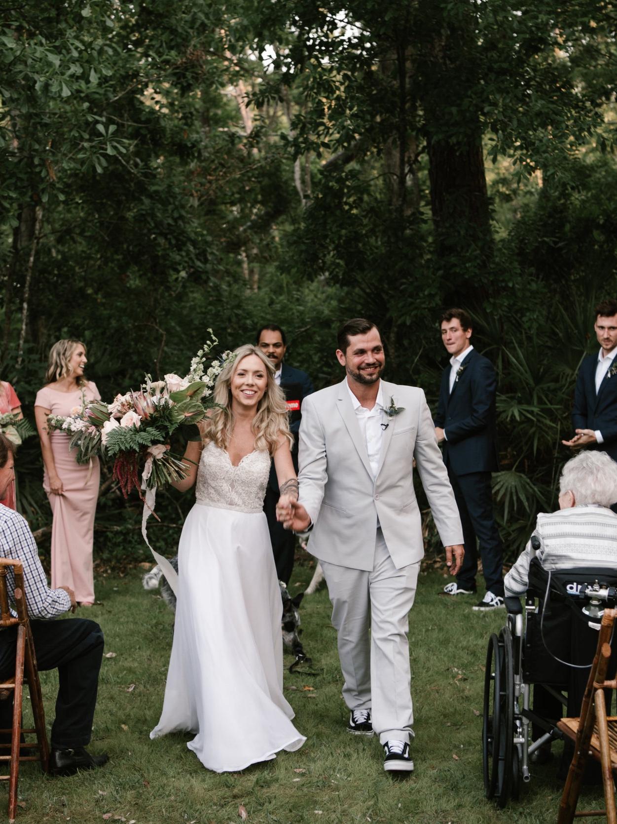 Orlando BOHOBACKYARD WEDDING - Elli & Ronnie