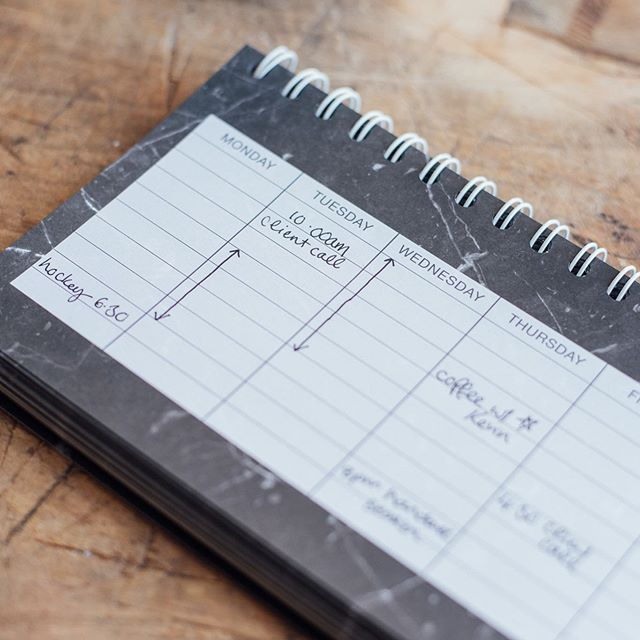 QUESTION! How do you boss ladies schedule your weeks and days?  I've been trying out a couple of different systems for scheduling my business (and life, because they merge a ton when you work from home and on the road!)... paper, digital, diary, wall planner, I'm experimenting with it all. What works for YOU? What have you tried and loved/hated?