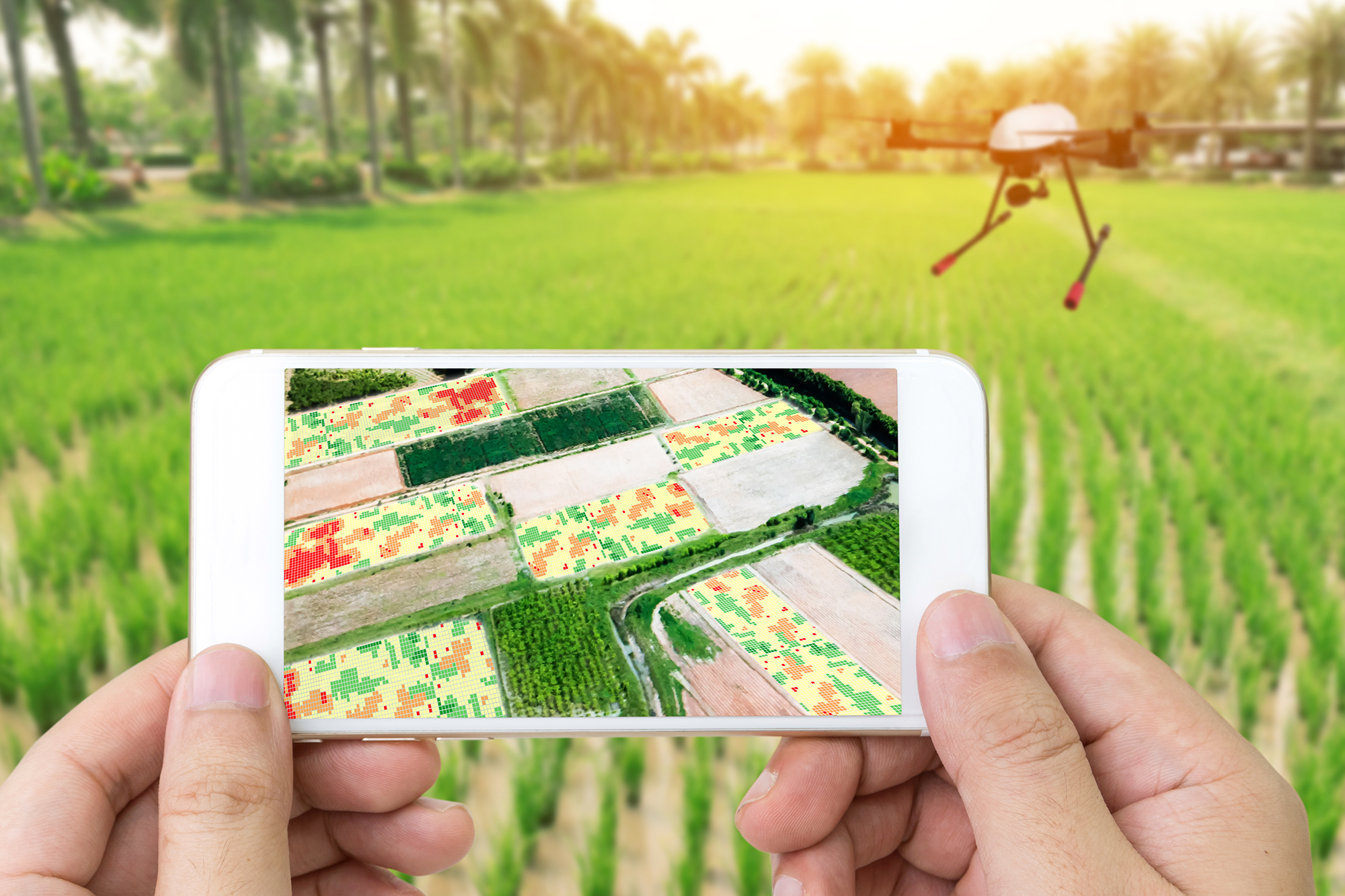Inspection - We use drone technology in various industries to inspect certain equipment that us as humans may not be able to inspect so easily. Anything from creating a detailed map of a roof, to determining acreage for farmers,even providing property investors the resources they need to buy/sell that piece of land.