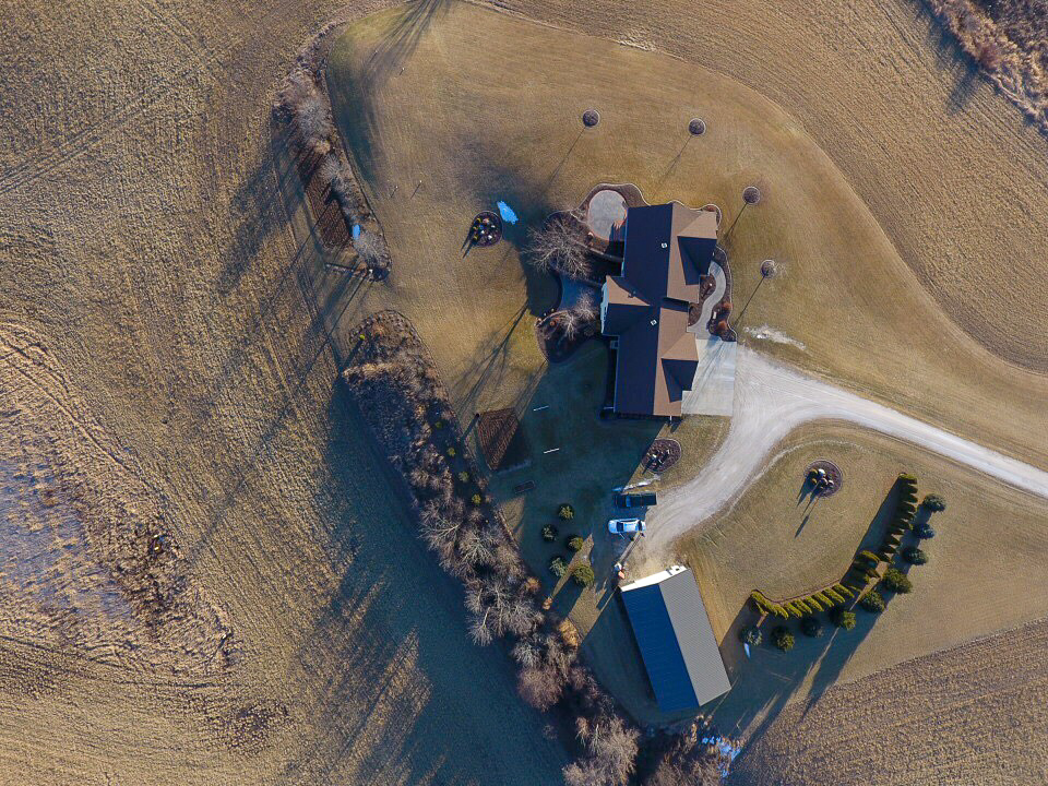 Aerial Residential Photography