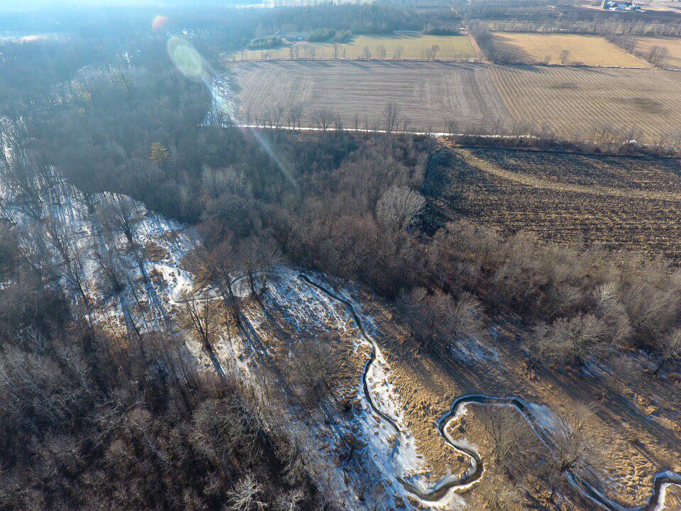 Hunting Land Aerial Photography