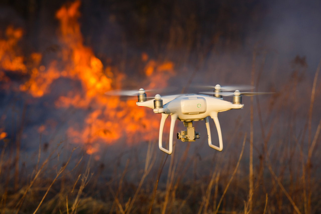 Firefighting - Fire departments are now able to put out fires faster than ever with drone technology.  Using drones to locate the hottest part of the fire, units are able to target the problem area.
