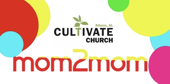 Join us for group playtime! - Cultivate Mom 2 Mom is a fun, causal setting where we can get our kids together to play and spend time getting to know other moms in the area. Location and time will be announced each week on the Cultivate Church Facebook page.