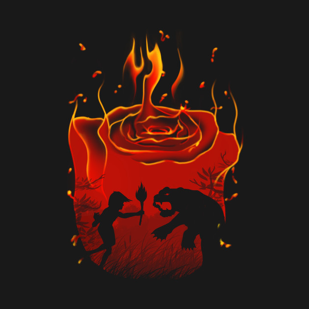 red flower - mair