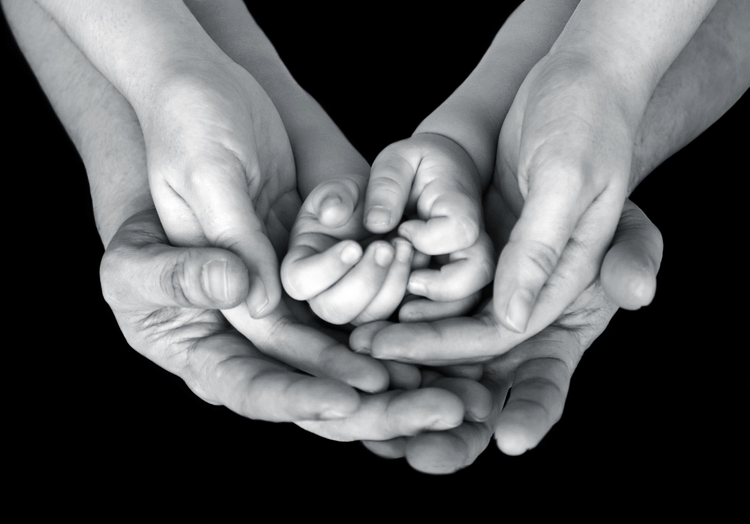 hands -