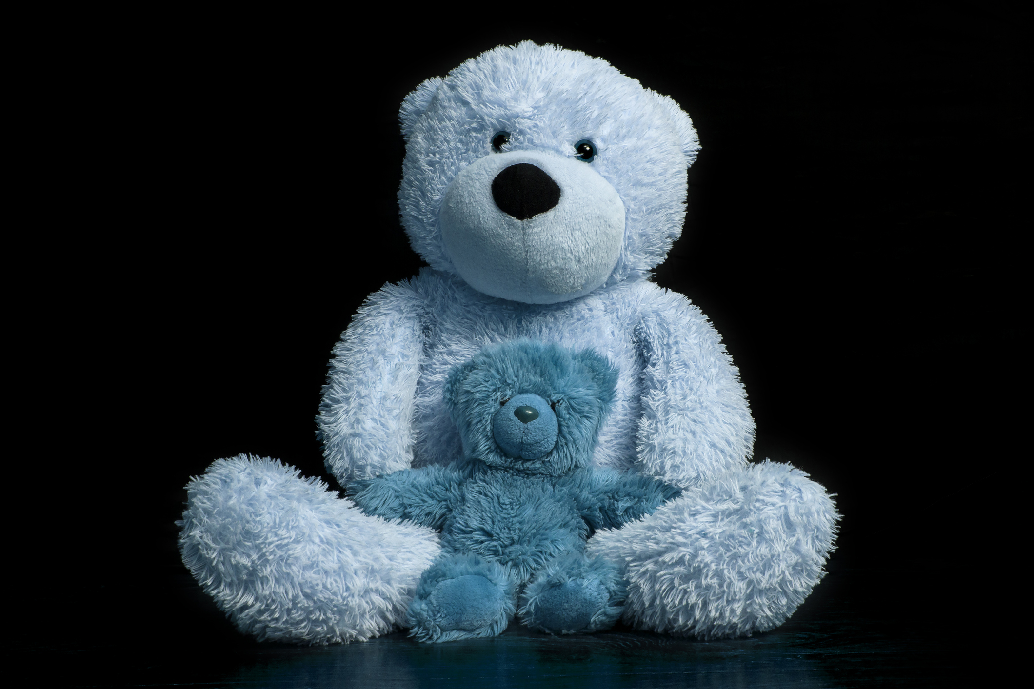AWAW ::A War Against Wednesdays - blue (nod to Pooh) bearGoodbye Christopher Robit