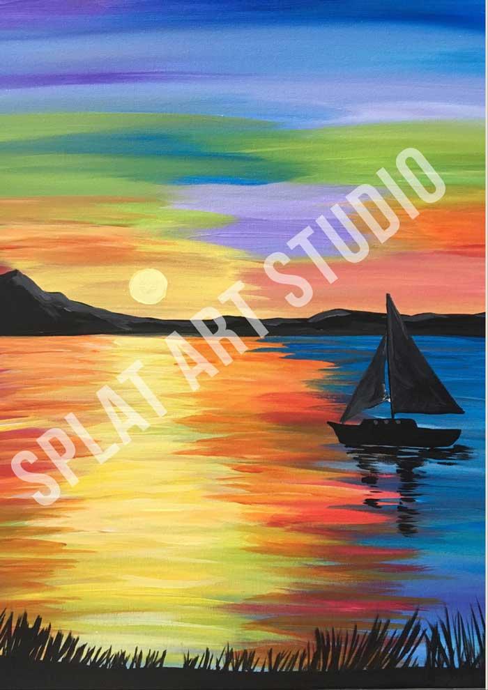Paint and Sip - Splat Art Studio
