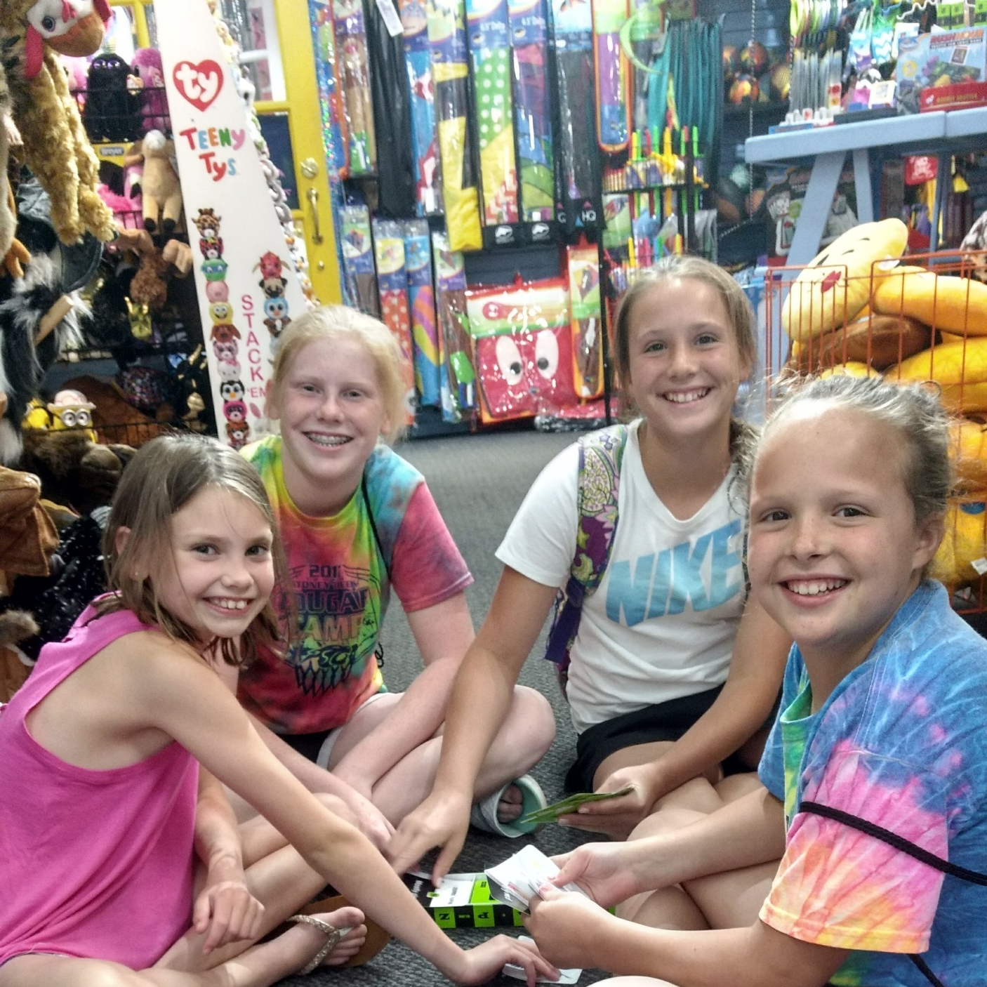 we're all fun & games! Here at Great Turtle Toys, we encourage our customers to PLay with us. Many of the toys and games are open and available for you to try out while you're here.