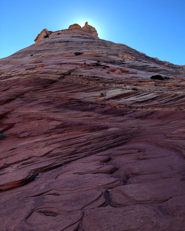 """The ridge we foolishly """"mountain-goated"""""""
