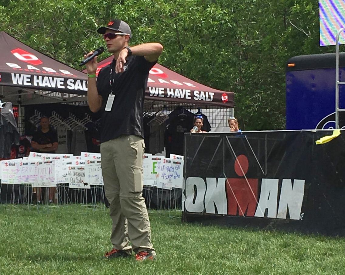 Coach Adam at IRONMAN Boulder