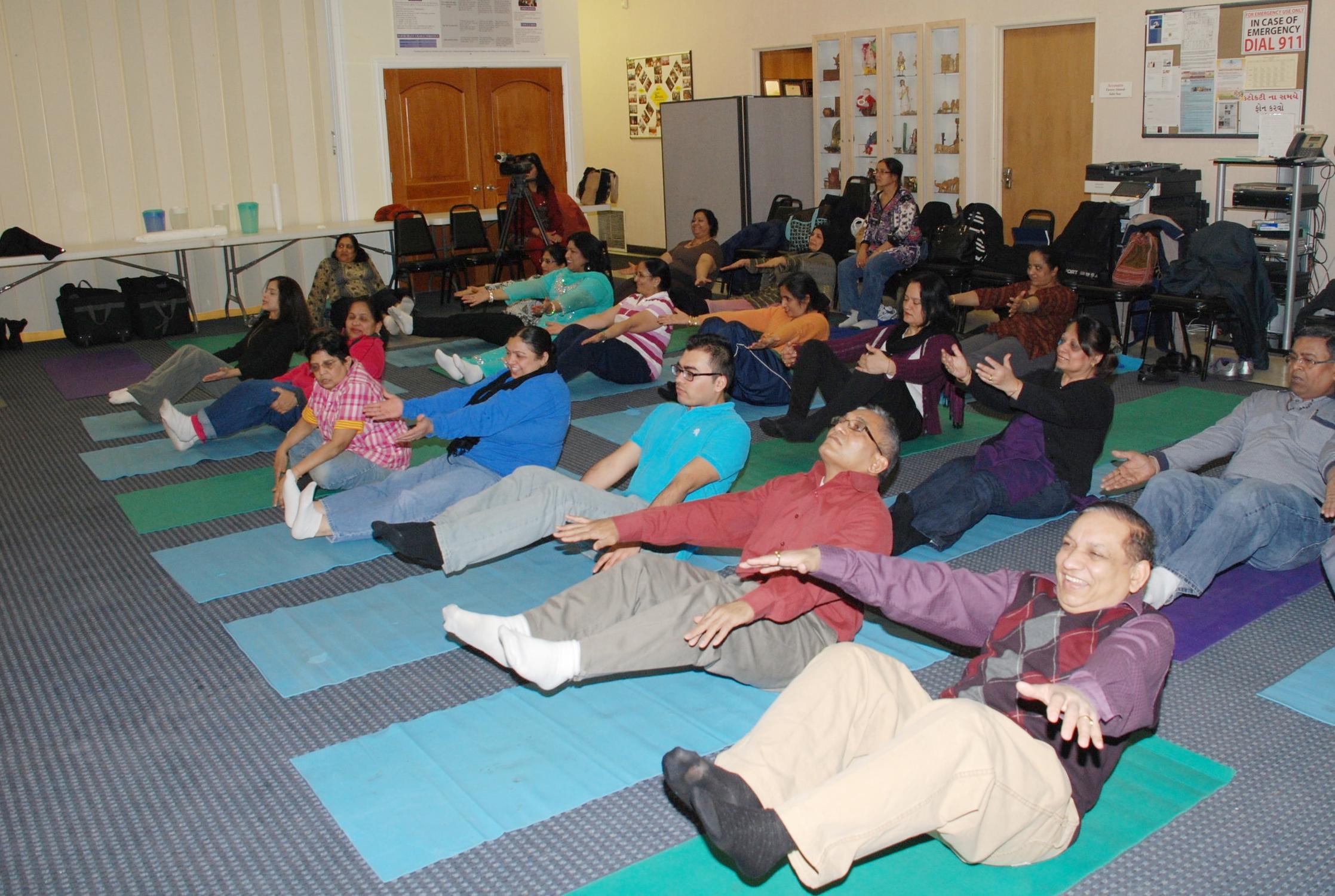 Saheli Study Yoga Class.jpg