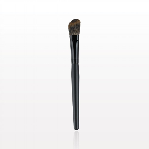 Blush and Contouring Brush:  A brush designed for seamless application and blending of blushes,   bronzers  , and   All Over Glows  .   Special Tip : When   contouring  , use 2 shades darker   foundation   in the areas of your face that you want to contour. Now, use 1 shade lighter than you would wear to   highligh  t the areas of your face that you want to bring forward.  Remember to first lightly apply your regular   foundation  .