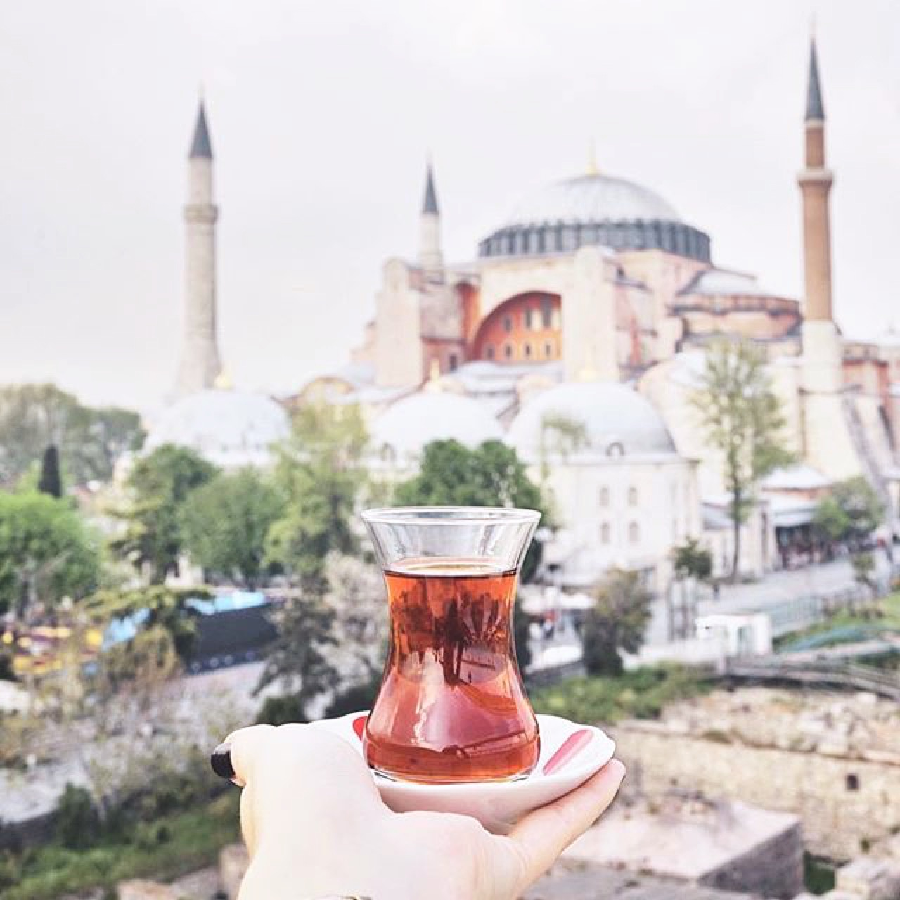 In less than a week,we will be touching downin Turkey. -