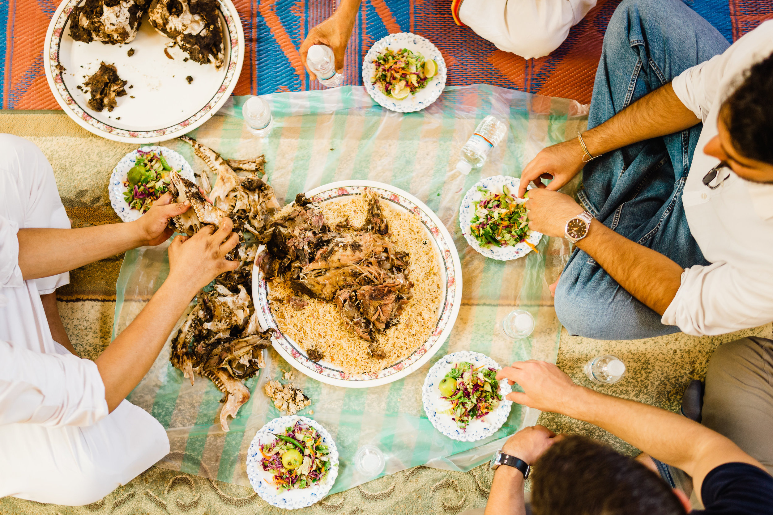 Omanis do not orchestrate these traditions for the benefit of their visitors -