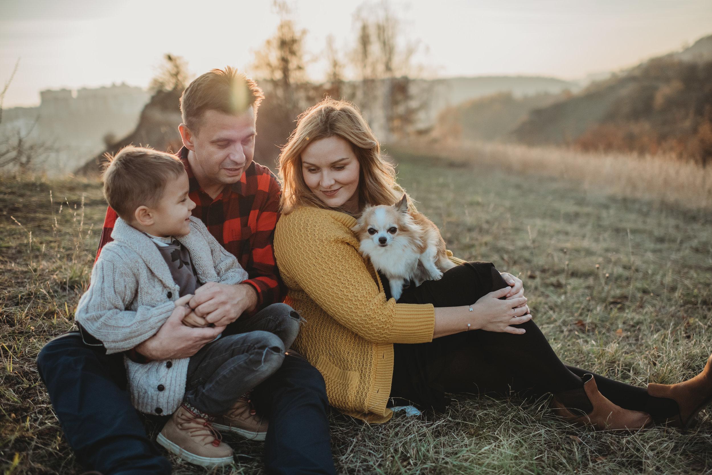 Rodinný fotograf Praha/Prokopksé údolí  Podzimní rodinné focení