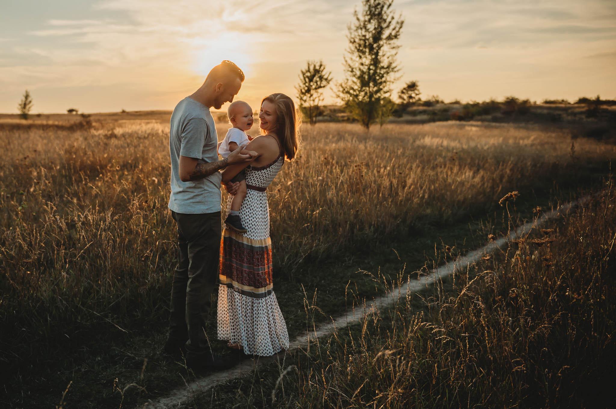Rodinný fotograf Praha  Pozdně letní rodinné focení