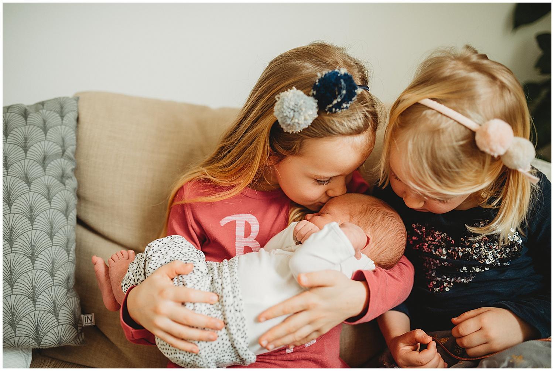 Rodinný fotograf JIhlava/interiér  Lifestylové newborn focení v interiéru