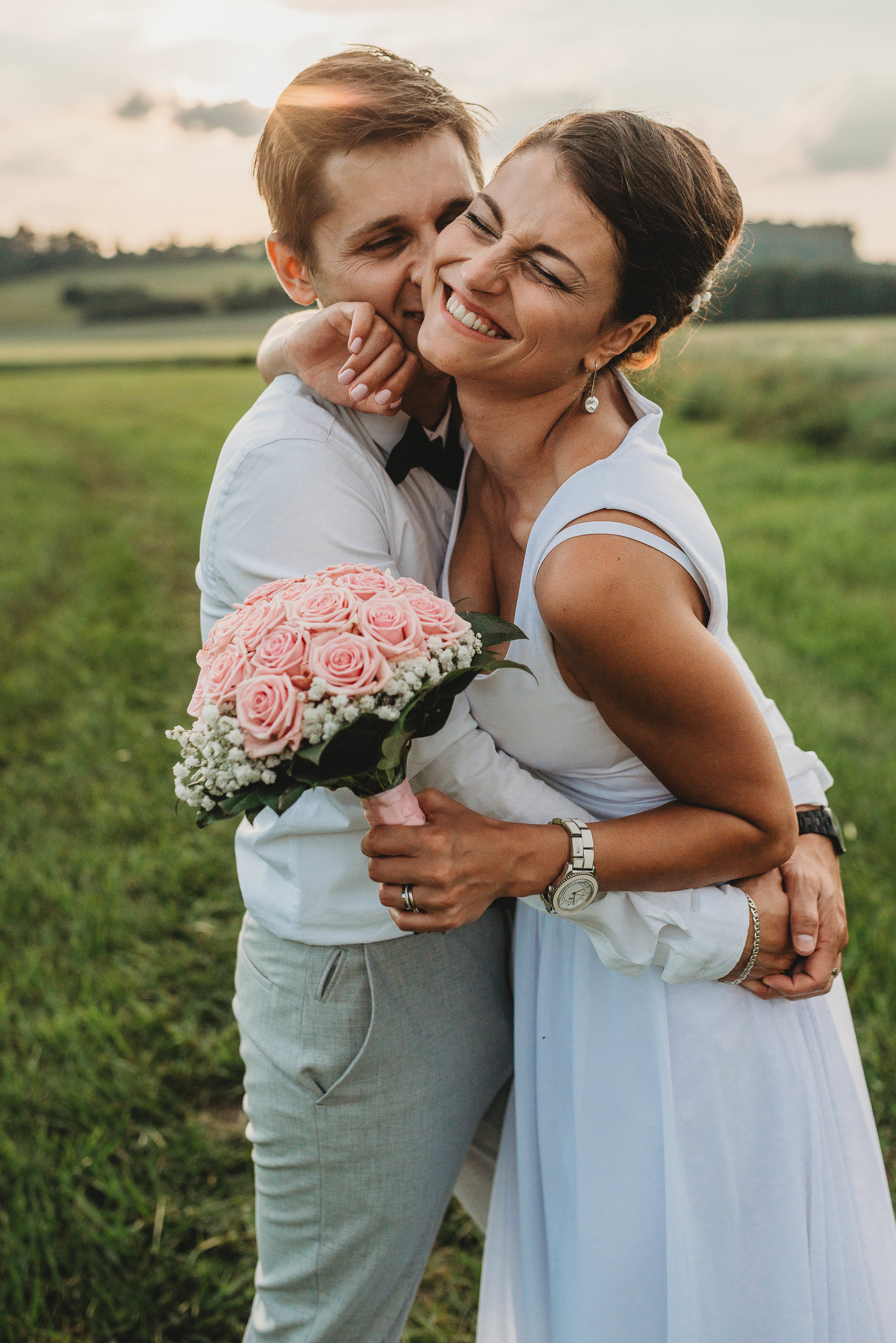 Lucka a HOnza/Plandry/Jihlava  Letní svatba Plandry