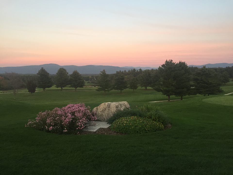 Play A-round - ...or two at one of several beautiful area golf courses. Pictured/photo credit: Middlebury College's Ralph Myhre Golf Course