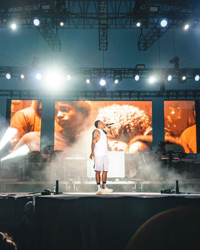 This trip has been so crazy. Caught @lecrae putting on an incredible show @rockthedesert • • If you like this photo let @lecrae and @reachrecords know. 🙏🏼