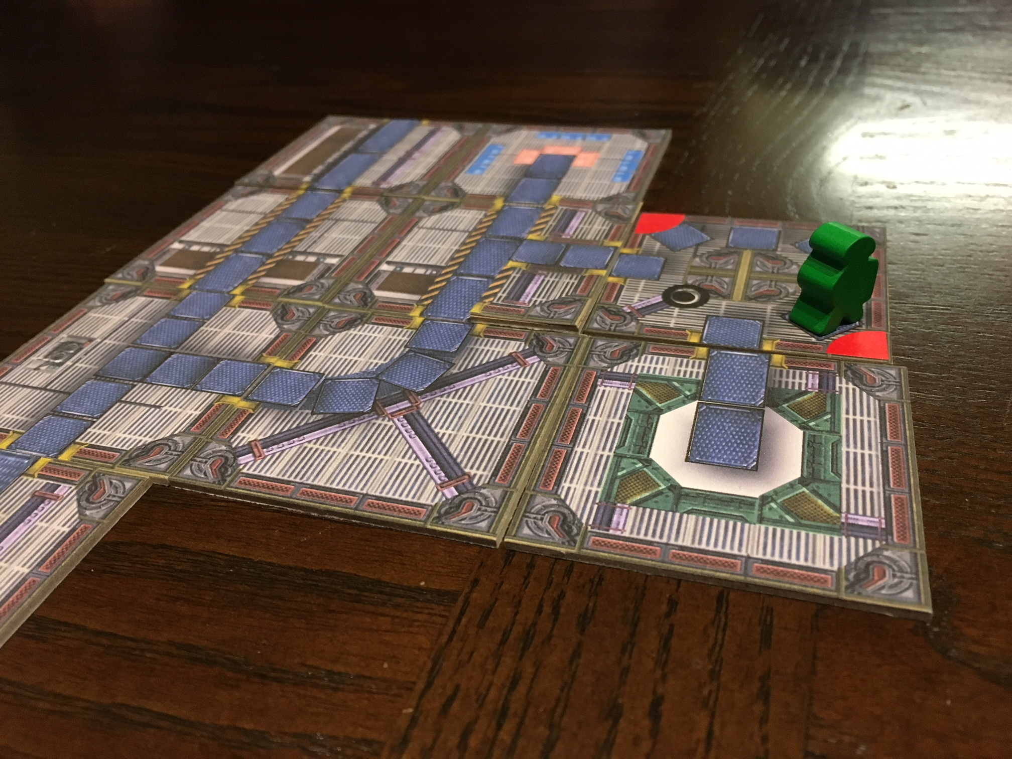 No Escape the Tile Laying Game