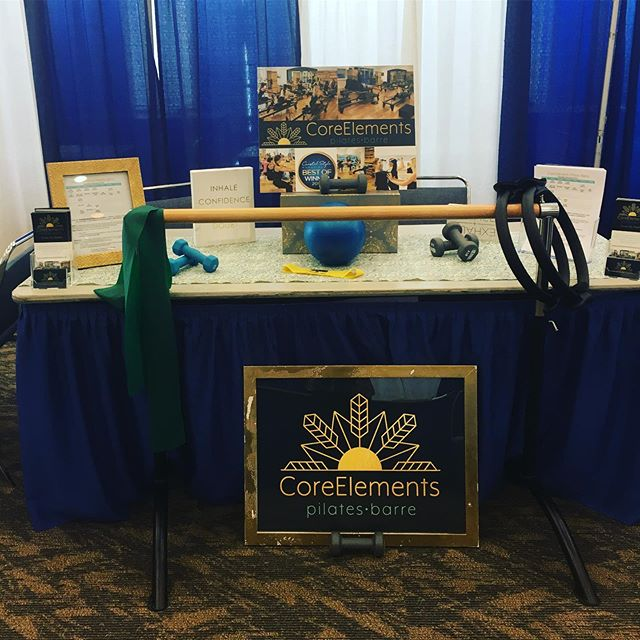 7:45am Reformer is canceled on Tuesday 5/7. Instead swing by the OC Health Fair at the Convention Center from 8am-noon. Free Stickers. #pilates #barre #ochealthfair