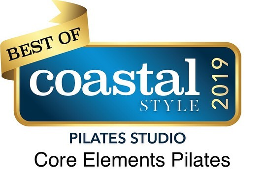 "Thank you to everyone who voted and @coastalstylemag . For the second year we made the ""Best of"" list. Worcester County best Pilates Studio and Pilates Instructor 🙏🏼. If you still haven't tried Pilates drop into a class and see what we can do for you.  www.coreelementspilatesbarre.com  #pilates #ocmd #coastalstylebestof2019"