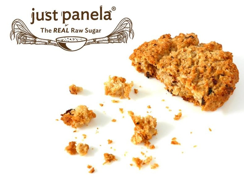 Just Panela Oatmeal Cookies -