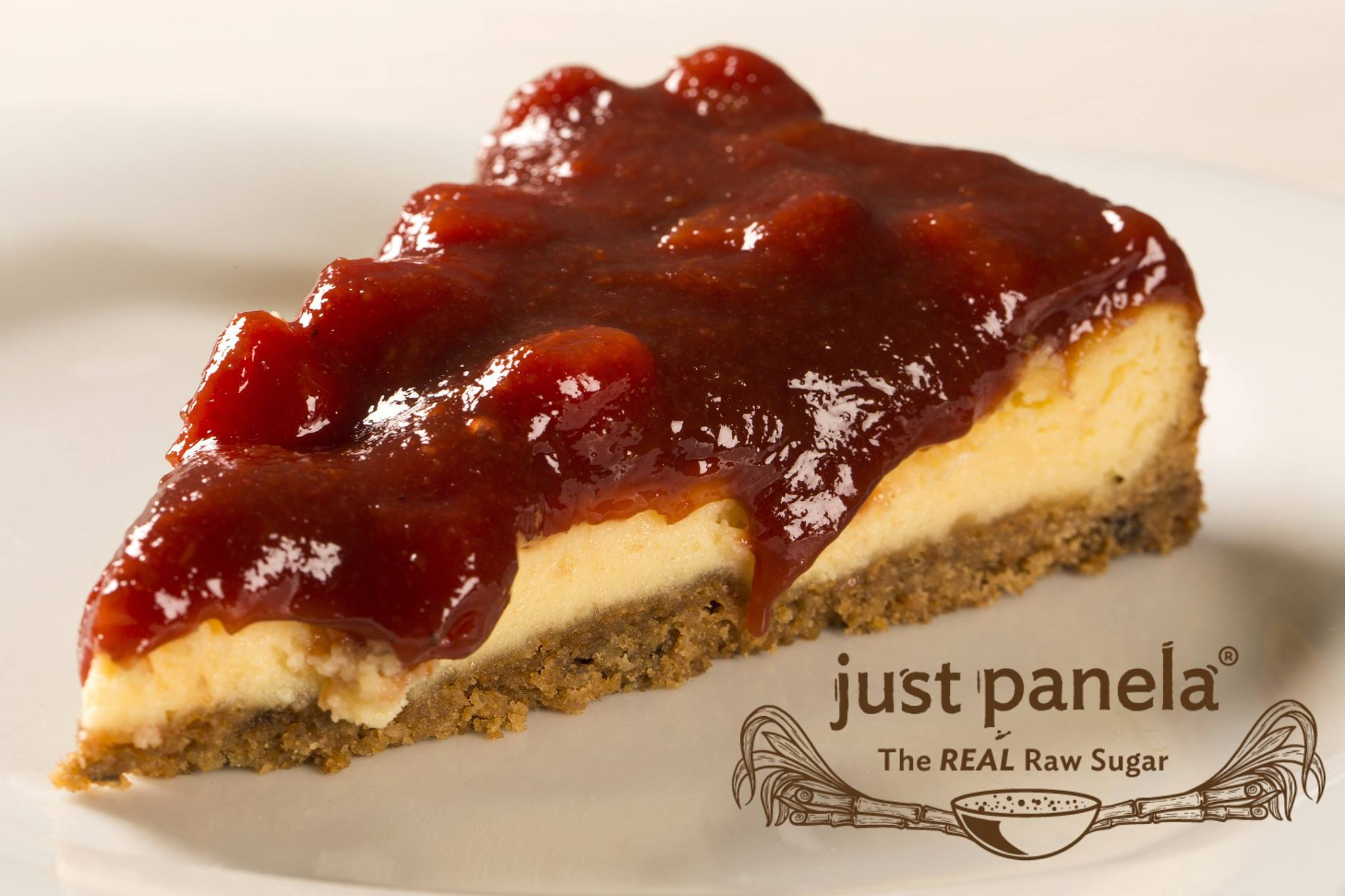 Just Panela Guava Lemon Strawberry Cheesecake -
