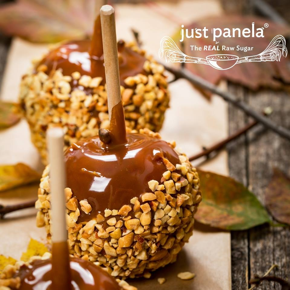 Just Panela Candied Apples -