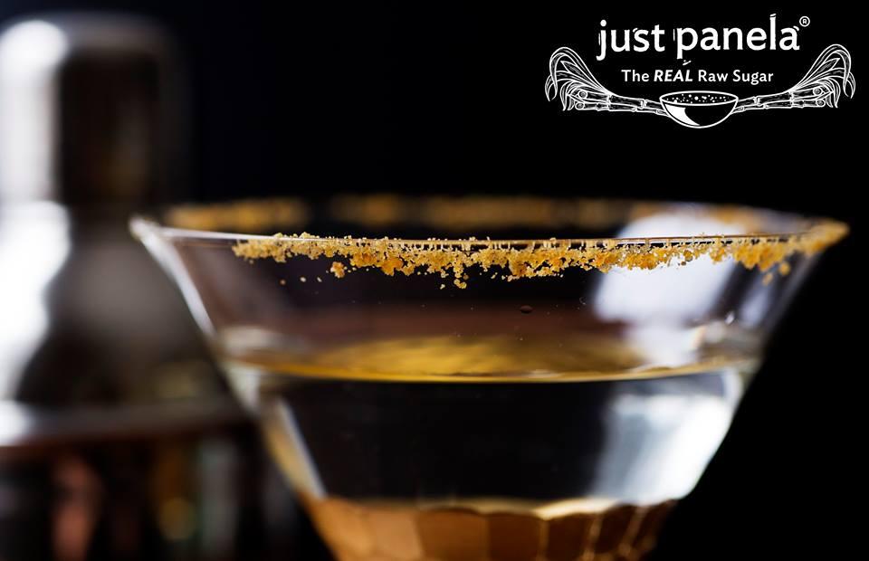The REAL Raw Sugar White Rum Martini -