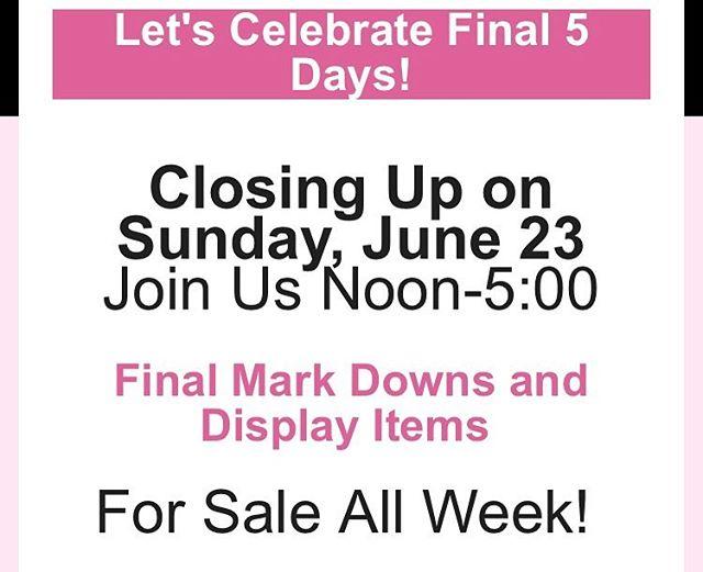 FINAL MARKDOWNS!!! Uno de 50, Joseph Ribkoff, Sanctuary, 525 America and more...ALL ON SALE🛍🛍🛍#storeclosing #closingsunday