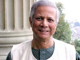 Dr. Muhammad Yunus - Father of microfinance. -