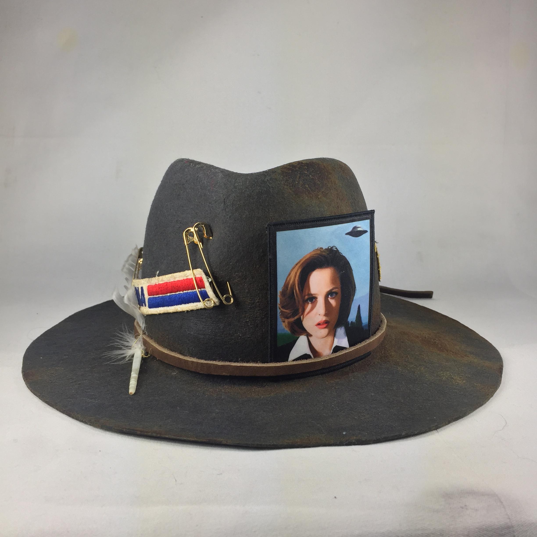 Chapeau de laine fait sur-mesure ⎥ Dana Scully