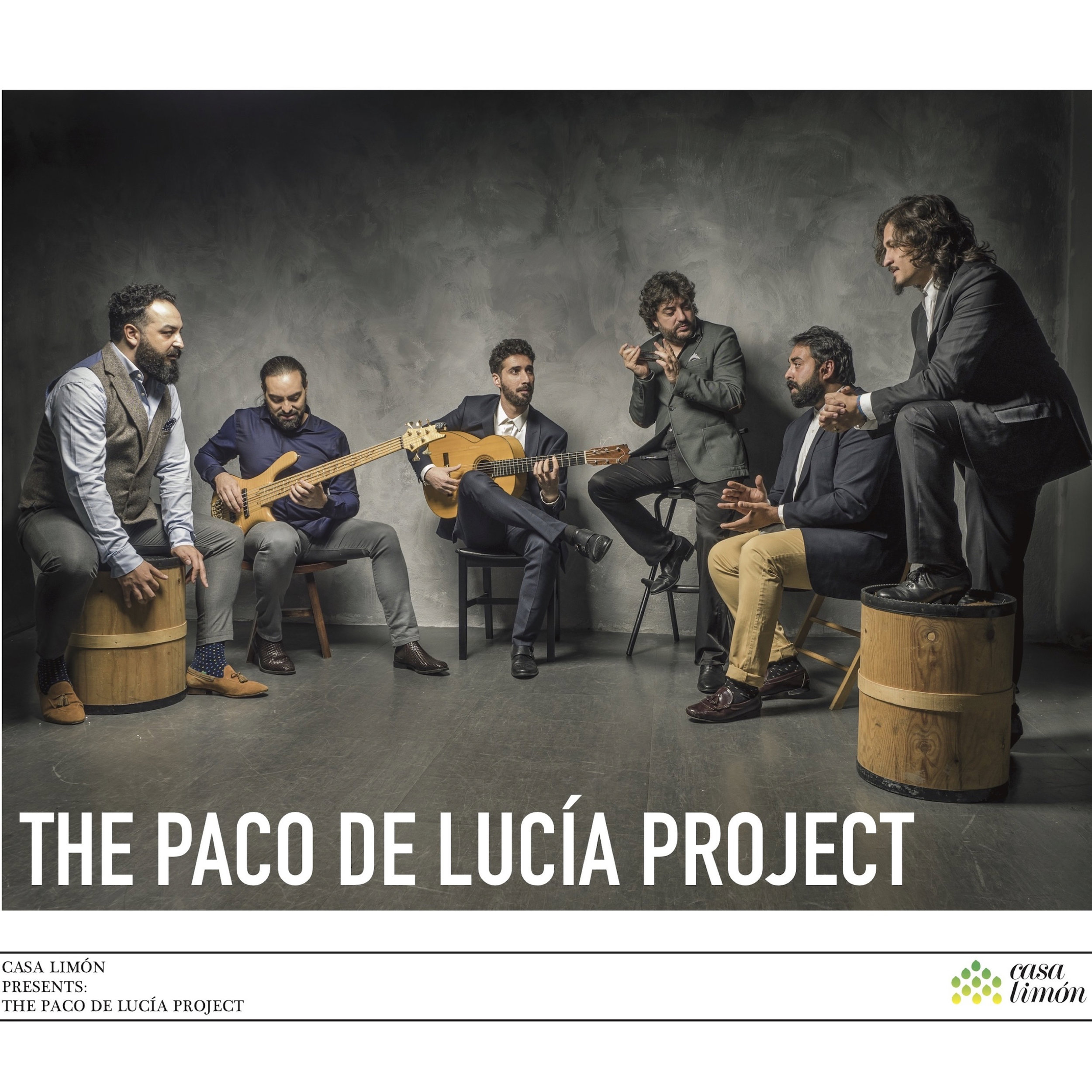The Paco de Lucía Project Live CD is out! - Recorded live at Miami's Olympia Theater during their Fall 2017 tour with IMG Artists, this record pays tribute to de Lucía's legacy.