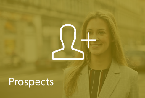 Prospects - Empower everyone to generate leads for new customers and product sales. Export your prospect list into Salesforce or other CRM systems.