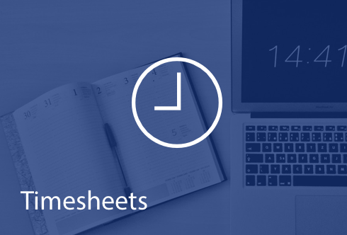 Timesheets - Track time more efficiently.