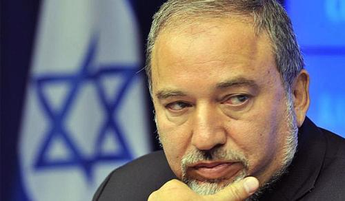 Secretary of Defense Avigdor Lieberman