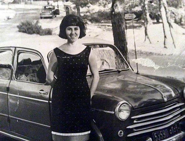 The author's grandmother, Beirut, 1957.