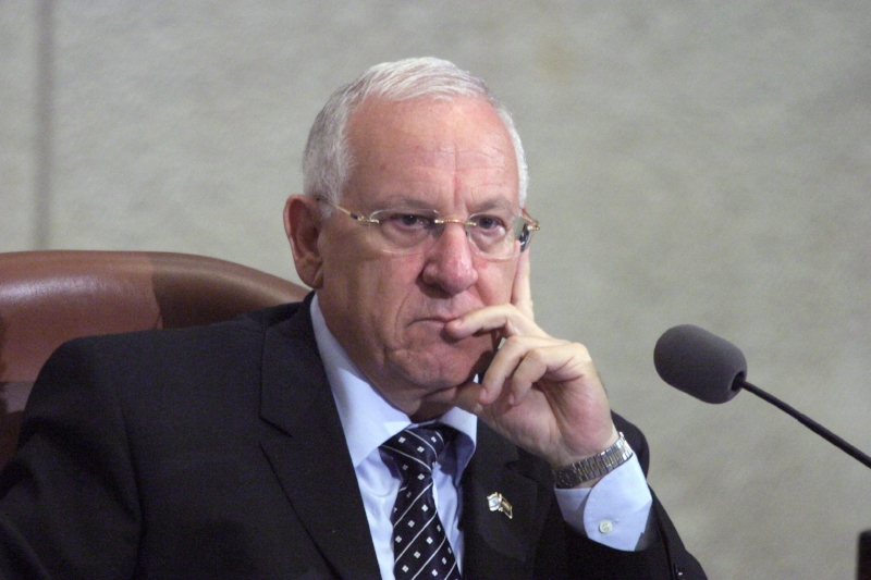 Israeli President Reuvin Rivlin  argues  for a Greater Israel that would embrace all people and give the Palestinians of the West Bank and Gaza full Israeli citizenship.