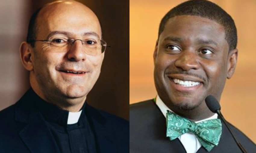 Rev. Dr. Mitri Raheb and Judge Everett Mitchell