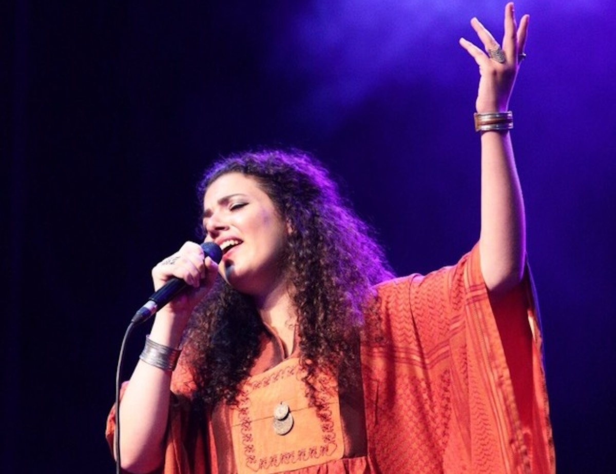 Nai Barghouti (Photo courtesy of the author)
