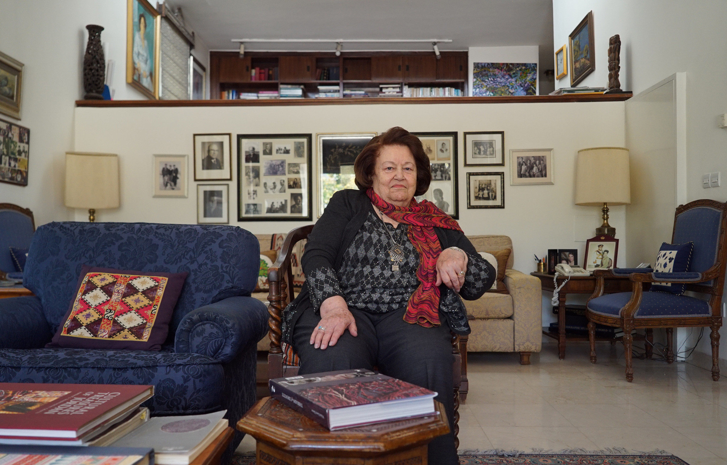 Widad Kawar, 87, Amman. Originally from Bethlehem.