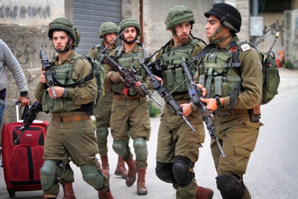 IDF soldiers. (Nasser Ishtayeh/Flash90)